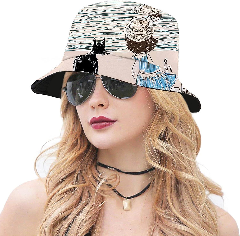 Multicolor Packable Fisherman Finally resale start Bucket OFFicial shop Sun Hat