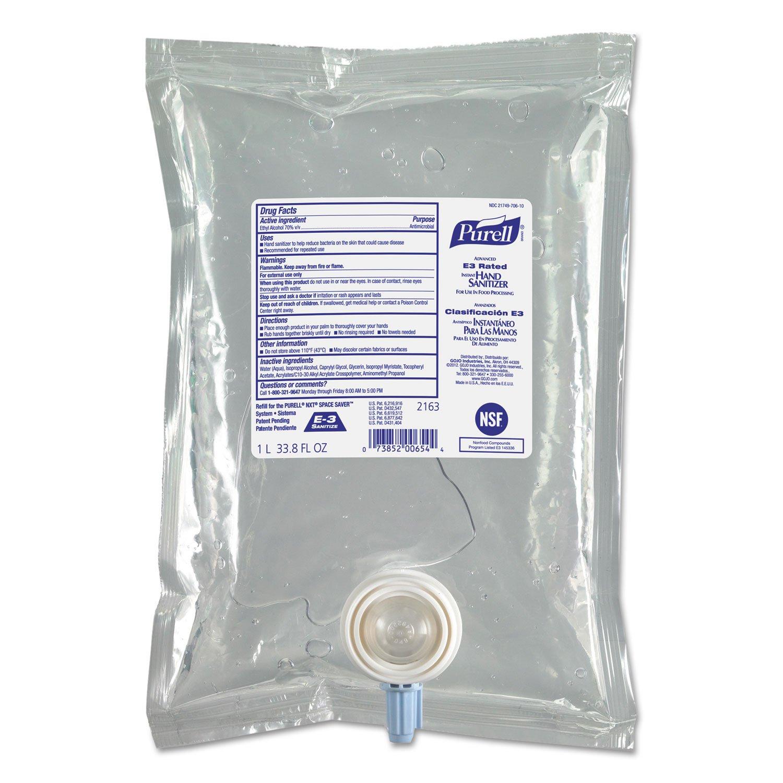 [Alternative dealer] Ranking TOP2 PURELL 216308 Advanced E3-Rated Instant Sanitizer Hand Gel Frag