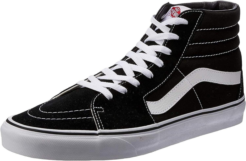 Amazon.com   Vans   SK8-HI   Black