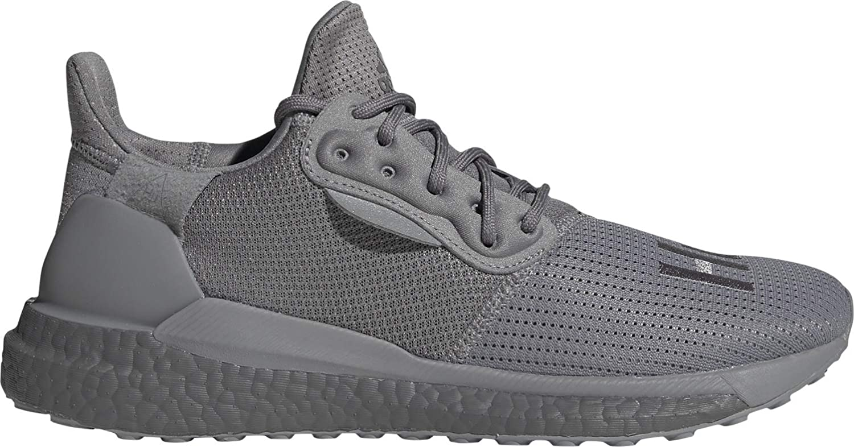 adidas PW SOLARHU GRYSCALE - Zapatillas de correr para hombre, color gris