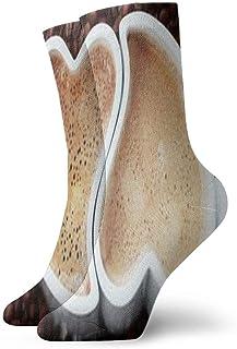 iuitt7rtree, Calcetines deportivos por amor al café Calcetines deportivos Calcetines cortos únicos 7137