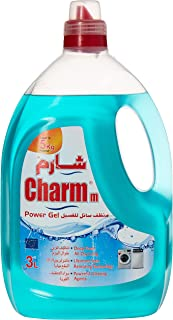 CHARMM Laundry Liquid, Blue, 3 Litre