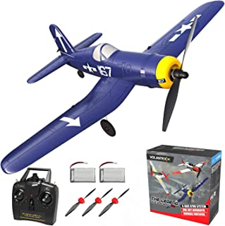 RC Plane 4 Channel Remote Controlled Aircraft Ready to Fly, One Key Aerobatic and One-Key U-Turn, Easy Control for Beginne...