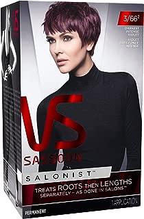 Vidal Sassoon Salonist, 3/66 2 Darkest Intense Violet, 1 Count