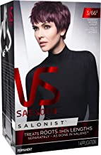 Vidal Sassoon Salonist Hair Colour Permanent Color Kit, 3/66 2 Darkest Intense Violet (PACKAGING MAY VARY)