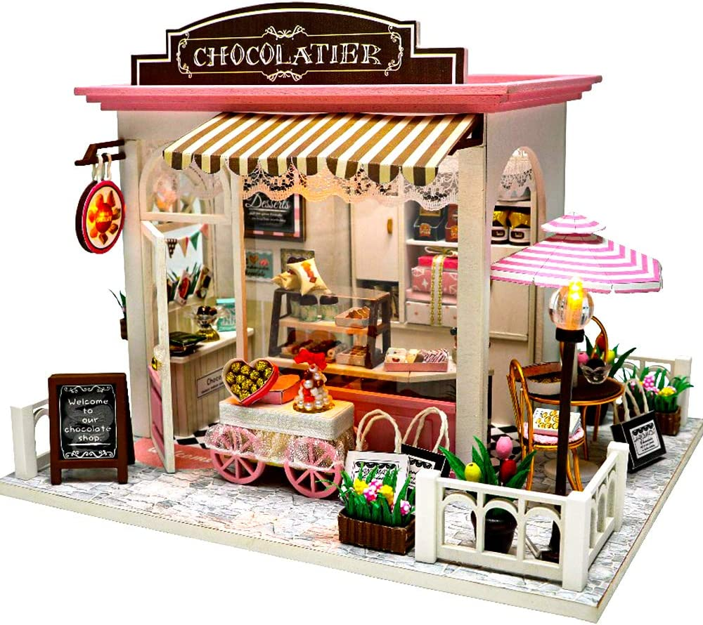 CUTEBEE Dollhouse Miniature Furniture,DIY Ki with lowest Max 43% OFF price