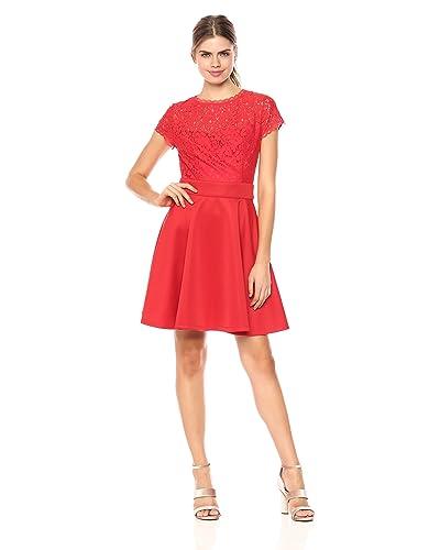 d2ec2e1700e Dark Red Lace Dresses  Amazon.com
