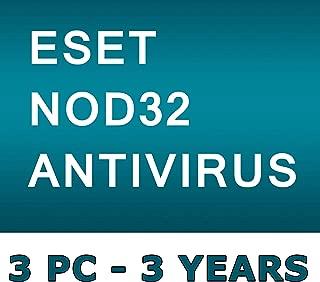 ESET NOD32 Antivirus 2019 / 3 PC's / 3 Year's / Windows+Linux / GENUINE KEY ESET / One Code - One Buyer ! No CD only Code