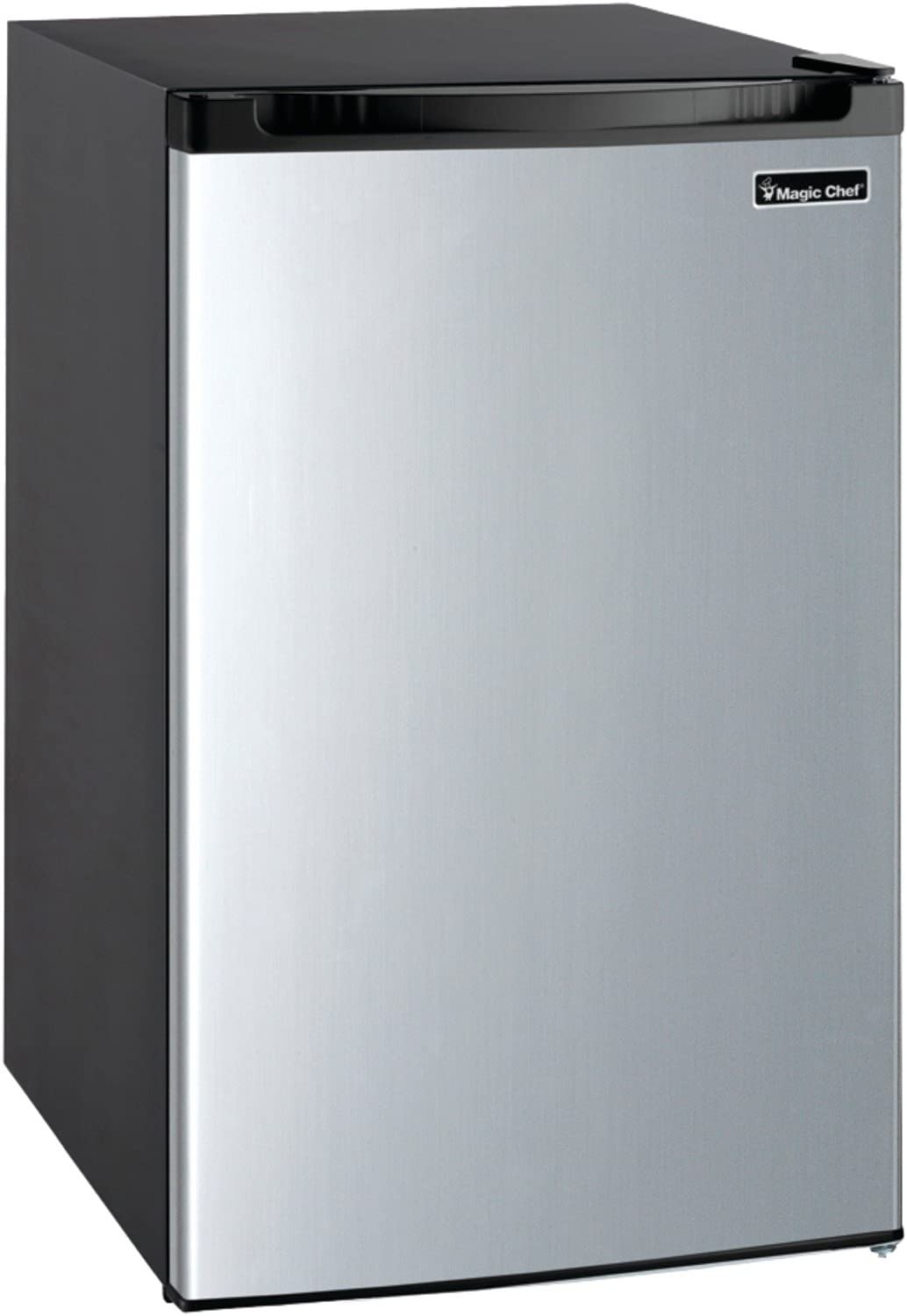 Magic Chef MCBR440S2 Refrigerator, 4.4 cu. ft, Stainless Steel