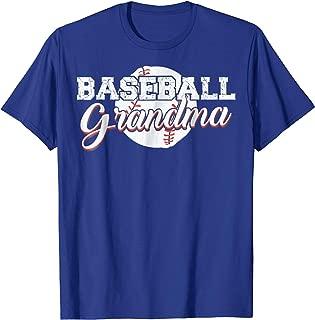 BASEBALL GRANDMA SHIRT - BEST GIFT IDEA FOR GRANDMA (WOMEN)