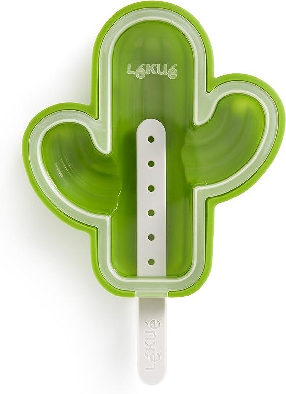 Lekue 3400264V10U150 Cactus Ice Cream Mold Green