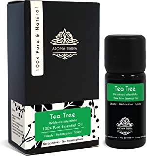 Tea Tree Essential Oil - Aroma Tierra - Pure, Natural - 10ml