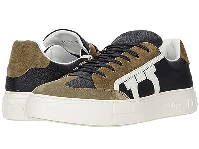 Salvatore Ferragamo Borg Sneaker (Black) Men