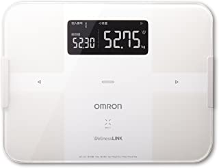Omron body weight, body composition meter body scan PC ¡P smartphone corresponding white HBF-252F-W