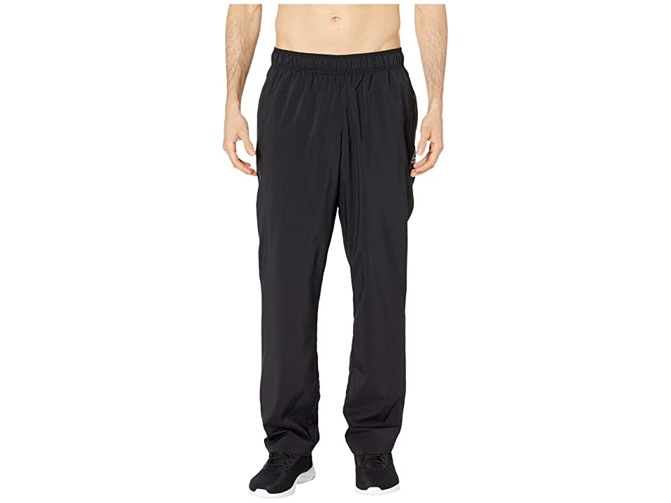 Reebok Training Essentials Woven Open Hem Pants (Black) Men