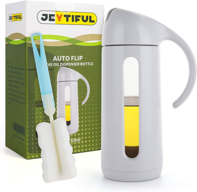 JEYTIFUL Direct store Auto Flip Olive Oil Dispenser Leakproof OZ OFFer C 11 Bottle