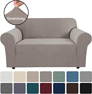 Stretch Couch Cover Loveseat Covers for 2 Cushion Couch Loveseat Slipcover