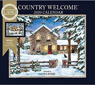 2020 Country Welcome Special Edition Wall Calendar, by Lang Companies