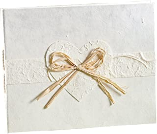 Wilton 1006-9025 Eco-Occasions Natural Paper Guest Book