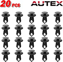 Eastar 20x Black Fender Flare Moulding Clips for Jeep Liberty Wrangler 55157055AA