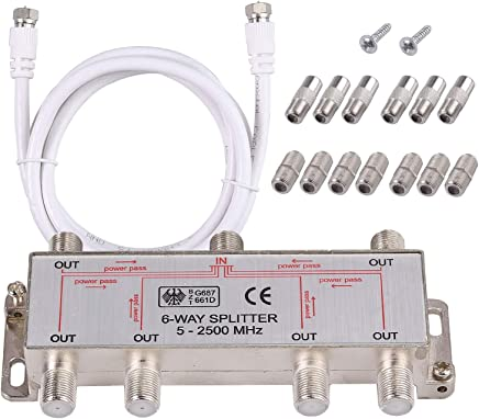 Amazon.com: 6 way cable splitter