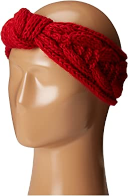 KNH3443 Cable Knit Knot Headband