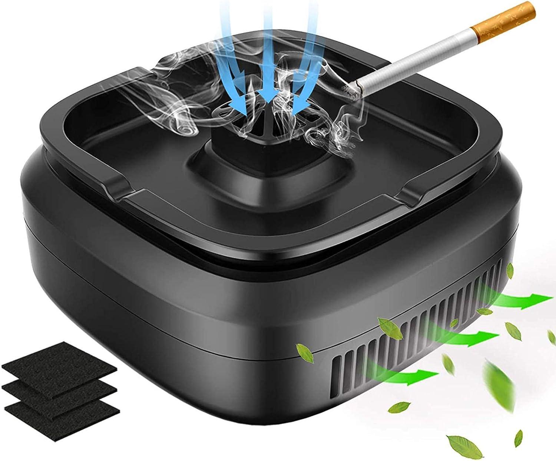 Multifunctional 即日出荷 Smokeless Ashtray for 記念日 Rech USB Cigarette Smoker