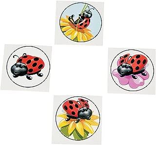 Ladybug Tattoos (72 pc)