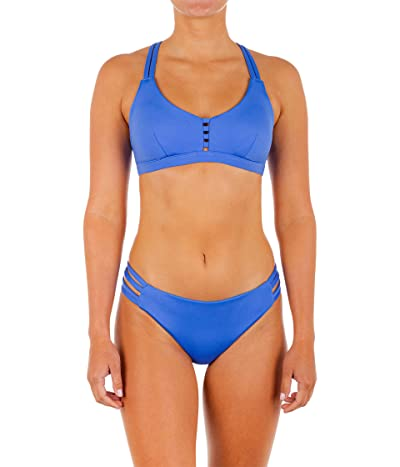 Hurley Max Solid Scoop Bikini Top
