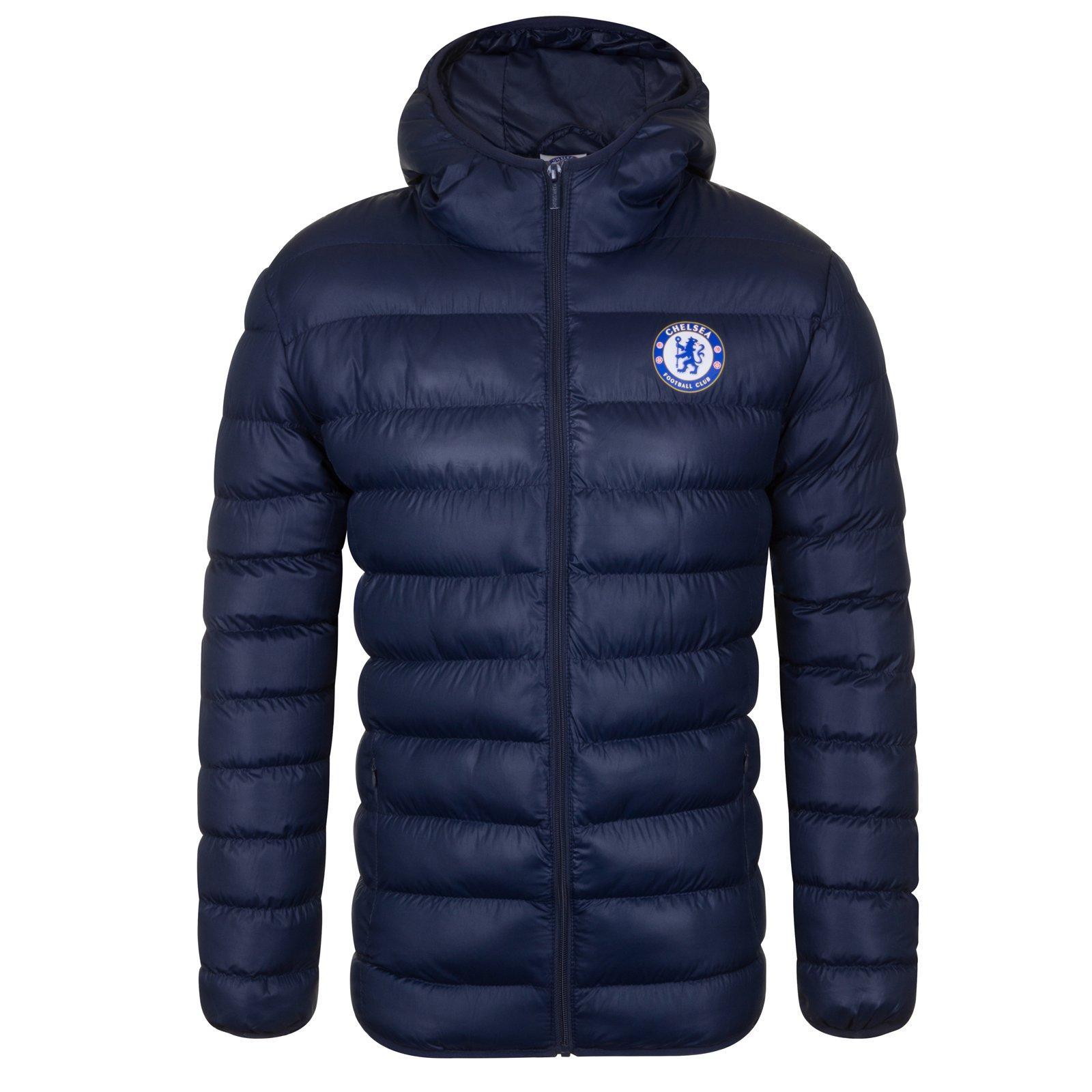 Chelsea FC Official Soccer Gift Boys Fleece Dressing Gown Robe Royal 11-12 Yrs