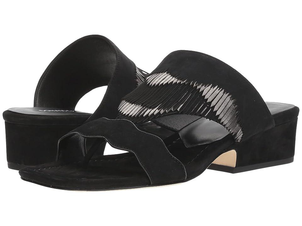 b6fa5bfdaa8 Donald J Pliner Darcie (Black) Women s Slip on Shoes