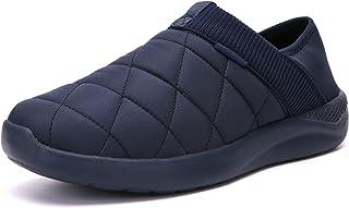 شباشب KUBUA للرجال والنساء داخل المنزل أحذية من القطيفة سهلة الارتداء في الهواء الطلق حديقة متسكعون