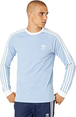 3-Stripes Long Sleeve Tee