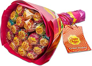 Chupa Chups Best Of Wheel - Fun Carousel of Iconic Candy - Ideal for Parties - 200 Lollipops