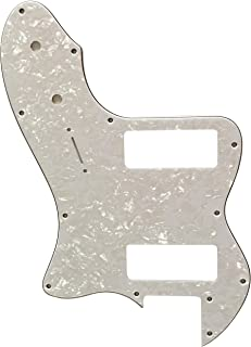 For Fender 72 Telecaster Thinline P90 Guitar pickguard Scratch Plate (4 Ply White Pearl)