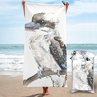 Kookaburra Microfibre Towel Quick Dry Compact Gym Lightweight Absorbent Travel Towel Workout Towel for Swim Camping Hiking...