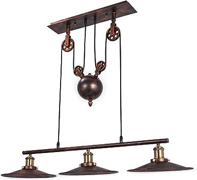 Retractable Pulley Pendant Lights Pendant Industrial Bedroom 15-20㎡