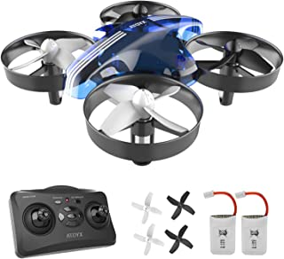 Mini Portable Drone for Kids and Beginners,Remote Control Drone Toys, Quadcopter Drone with Altitude Hold Function,360°Flips,Headless Mode and 2 Sets of Accessories,Best Drone for Children(AT-66)