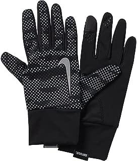 Nike Women's Vapor Flash Run Gloves 2.0 (L, Anthracite/Black/Silver)