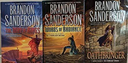 Stormlight Archive 3-Book Set: The Way of Kings; Words of Radiance; Oathbringer