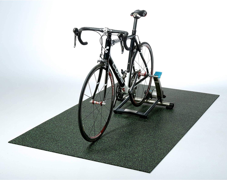 Materassino per attrezzi da palestra robusta protezione per il pavimento robusto spessore: 4/mm antiscivolo e fonoassorbente