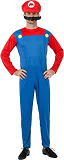 Super Costume Adult Cosplay Costume Brothers Halloween Cosplay Costume