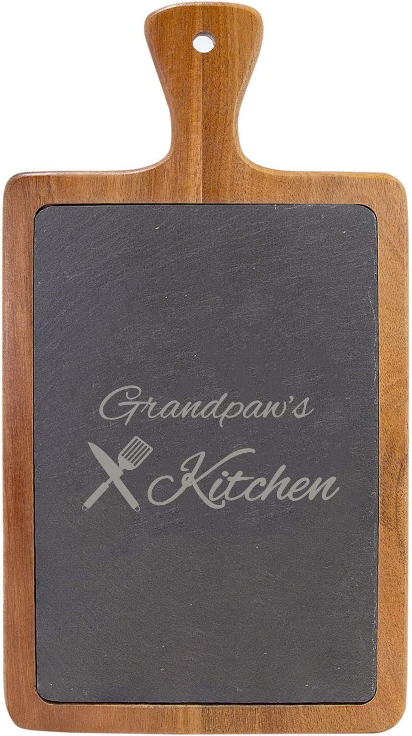 Grandpaw's Kitchen - 13 Sale Special Price 1 4-inch Slate Wood 7-inch Slab Acacia x OFFicial shop