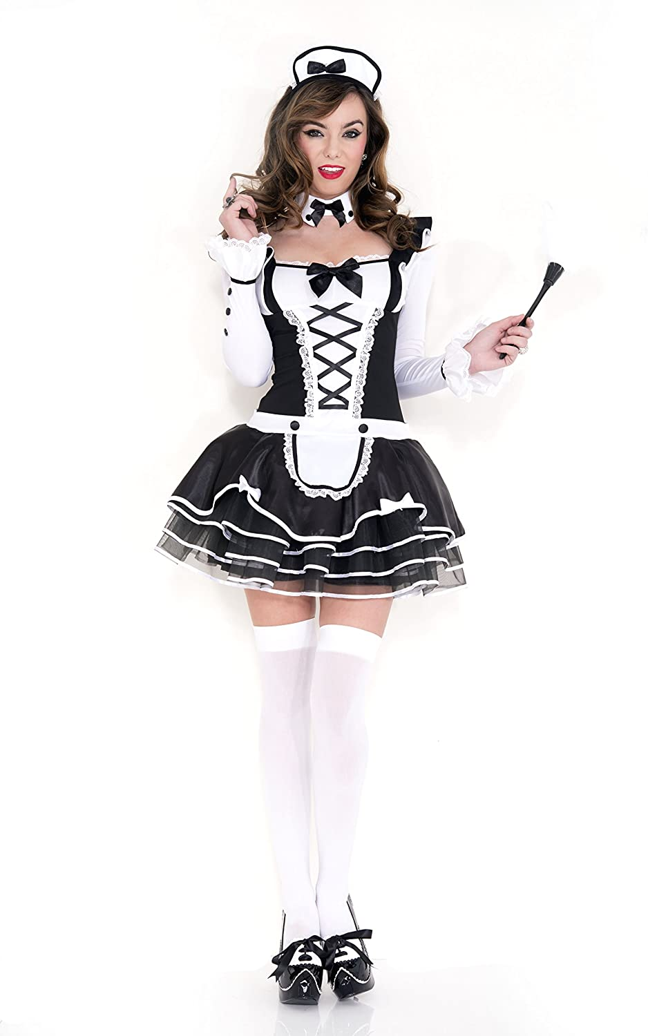 Celina 4 PC. Ladies Pretty Proper Now excellence free shipping and Frenchmaid Outfit