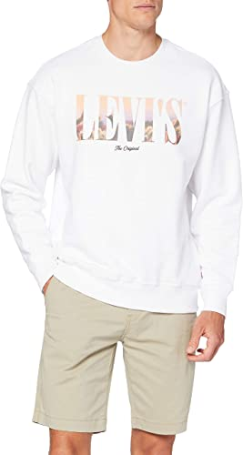 Levi's Relaxed T2 Graphic Crew Sudadera para Hombre