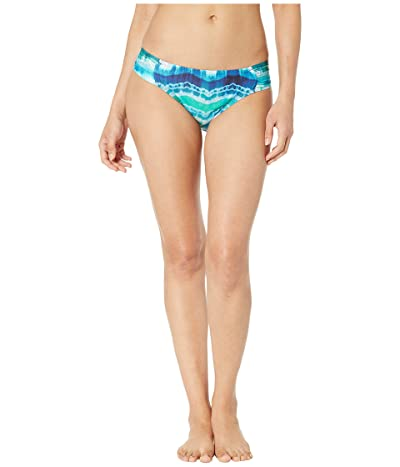 La Blanca Global Tie-Dye Side Shirred Hipster Bottoms (Blue Multi) Women