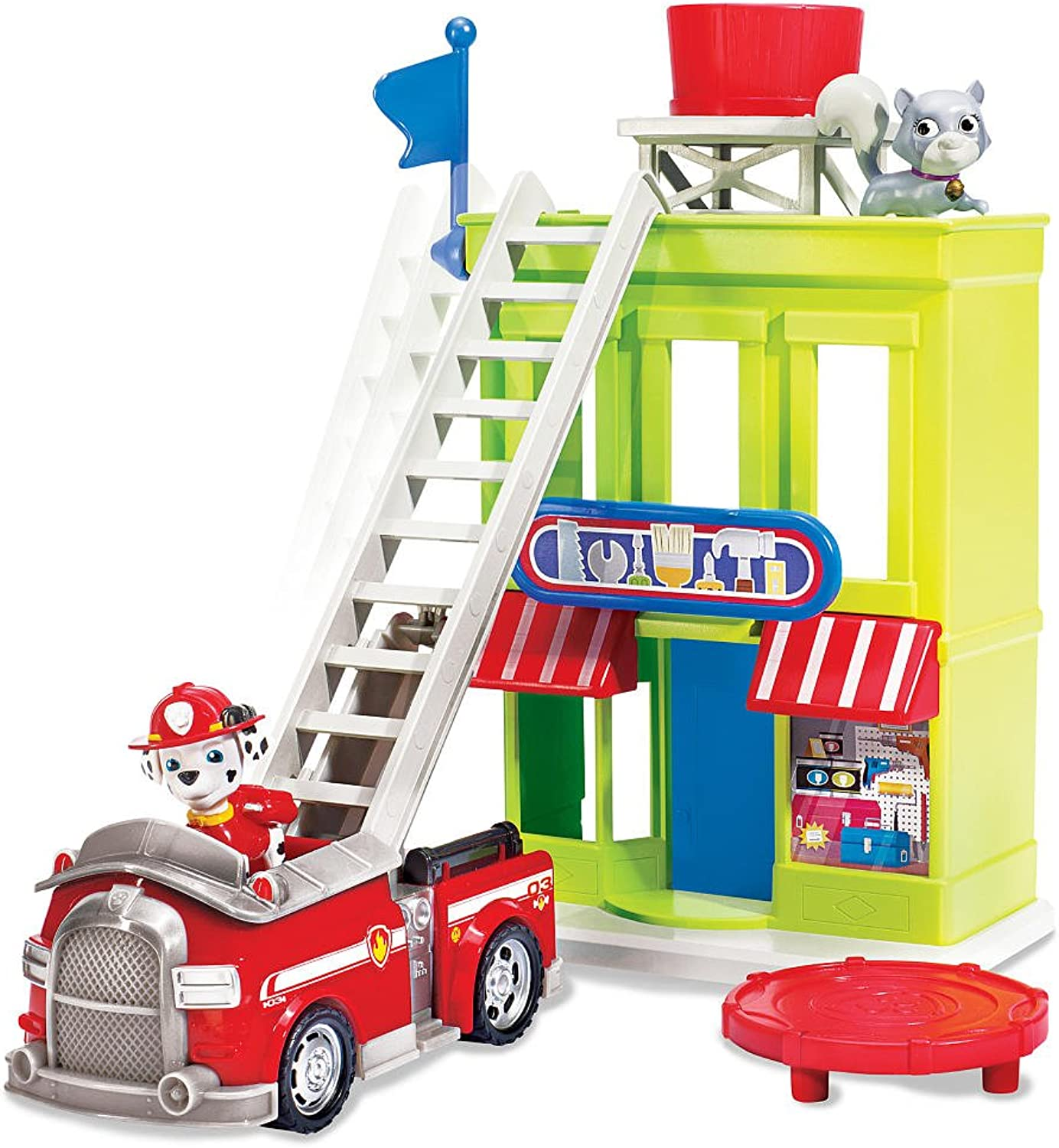 Paw Patrol Adventure Bay Town Set with Marshall