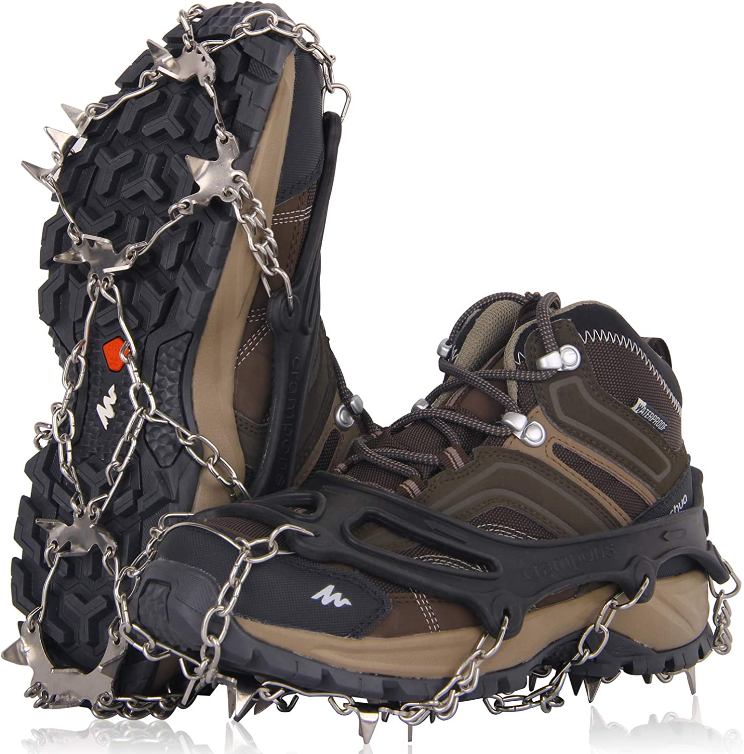 New product! New type Crampons Ice Ranking TOP20 Cleats Traction Snow Grips Shoes Wome Men Boots for