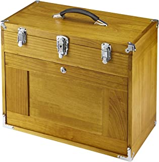 Eight Drawer Wood Tool Chest