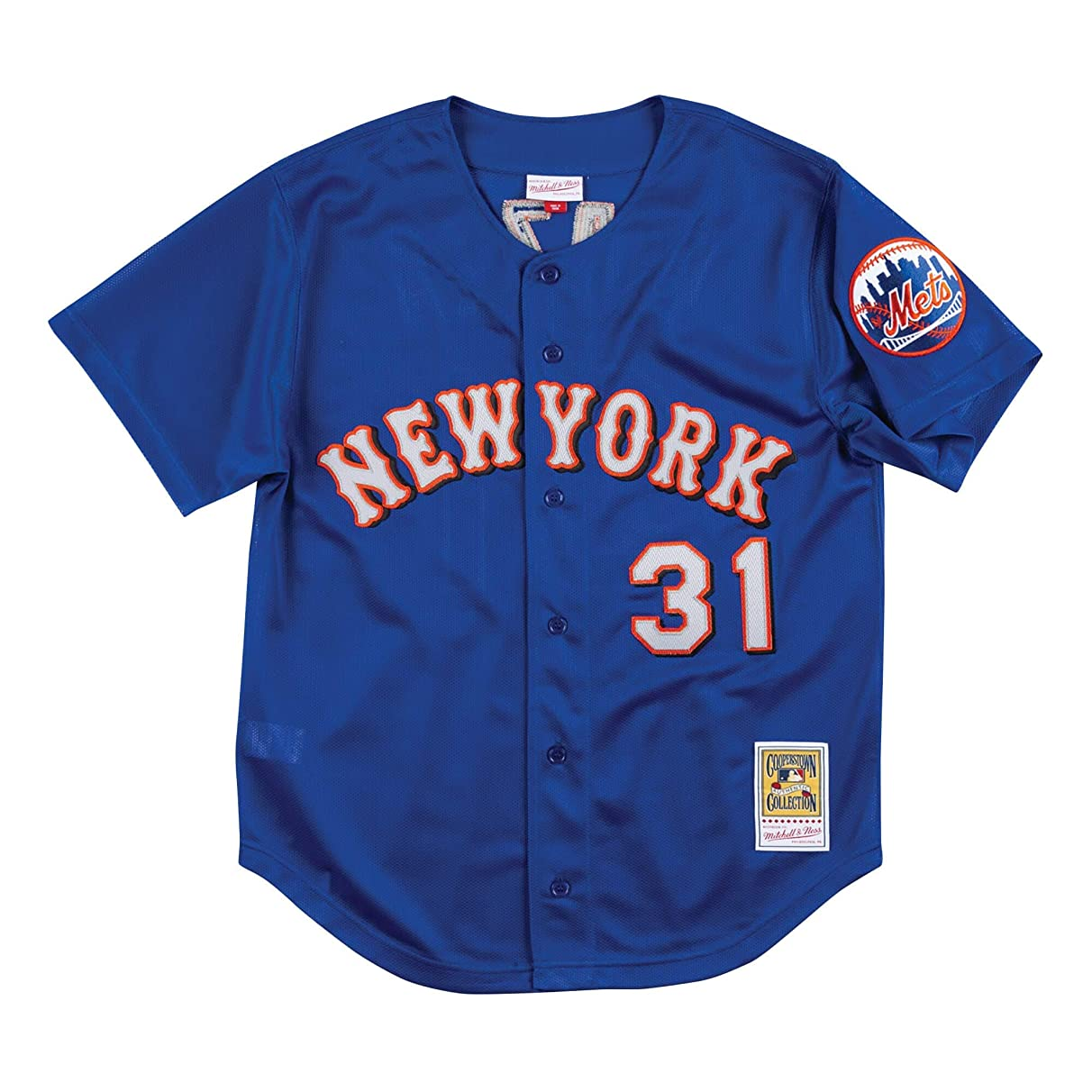 Mitchell & Ness New York Mets Mike Piazza 1999 Blue Authentic BP Jersey